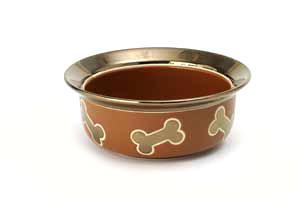 Napa Copper Keramikkskål