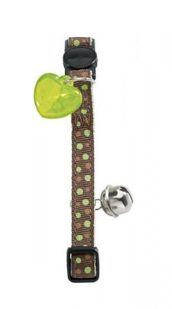 Hunter Kattehalsbånd polkadot - Grønn