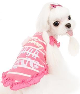 Grace petal t-shirt - rosa