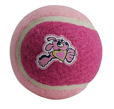 Rogz Pups tennisball - rosa