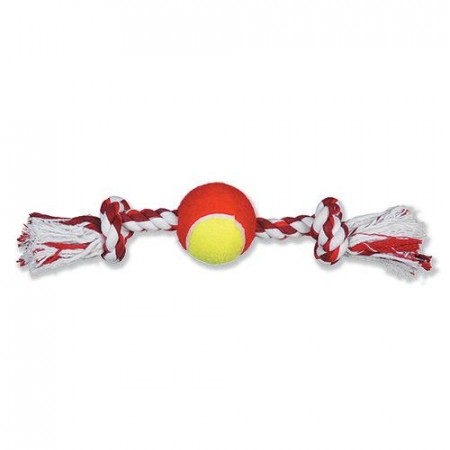 Tyggeknute med tennisball