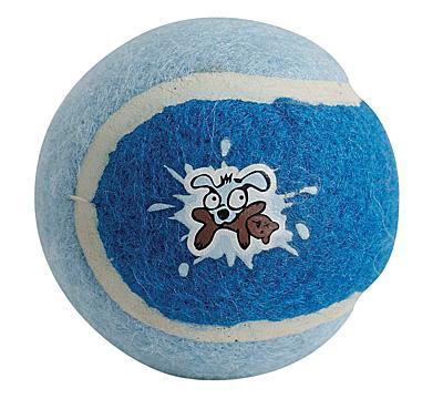Rogz Pups tennisball - blå