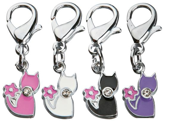 Charms Strass Kitty