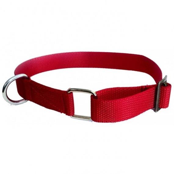 Kobuk nylon halvstrup - Rød