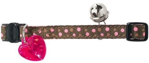 Hunter Kattehalsbånd polkadot - Rosa