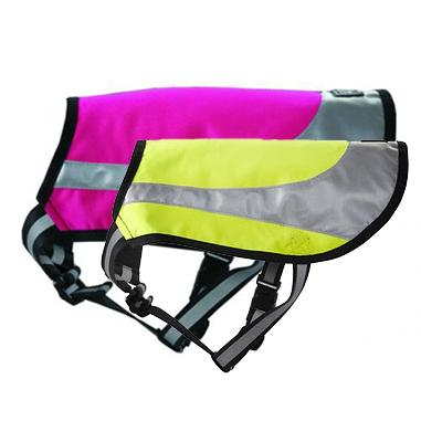 Hurtta Lifeguard Twilight Reflexdekken - rosa