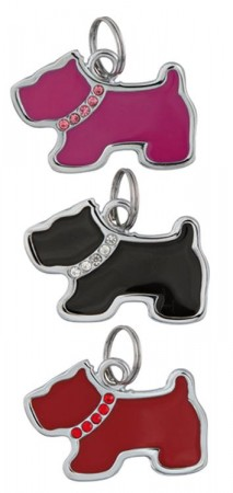 Charms - ID Strass Doggie
